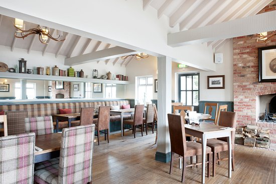 Twyning, UK: inside eating area