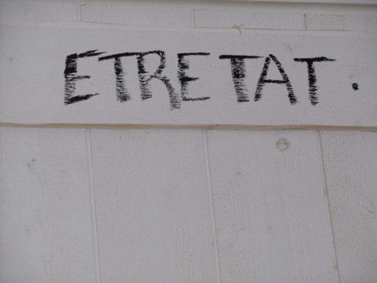 Falaise d'Etretat: incontournable en Normandie