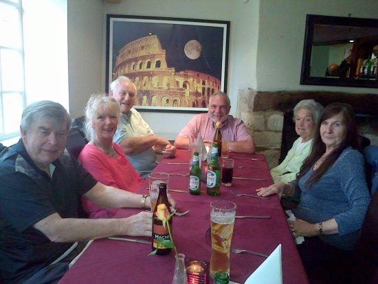 Fairford, UK: Family gathering