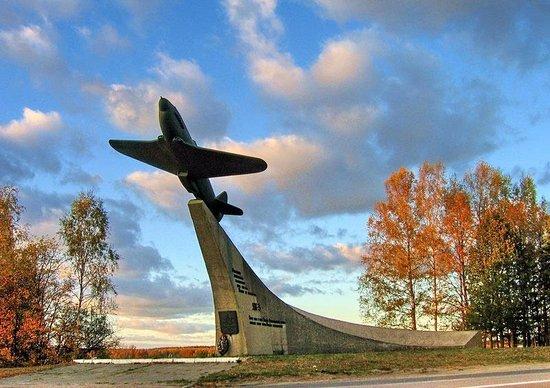 Airplane-Monument Yak-3