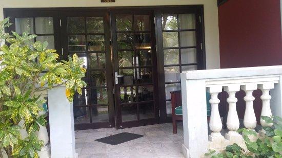 le belhamy resort & spa: Terrasse détente