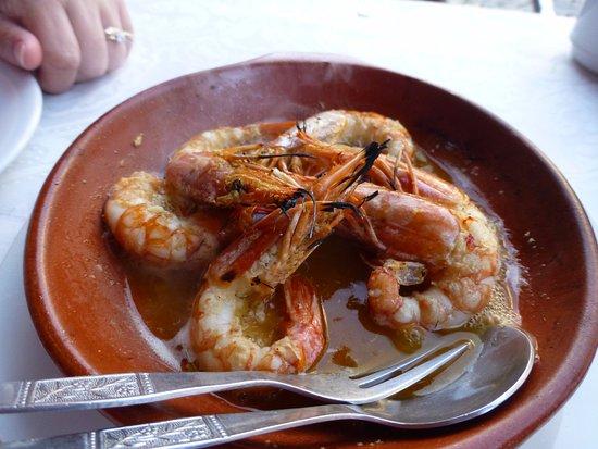 Restaurante O Cantinho: Chilli Prawns