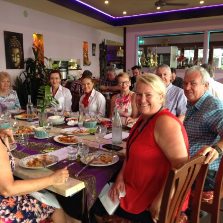 Hope Island, Australia: special lunch with 94.1 FM
