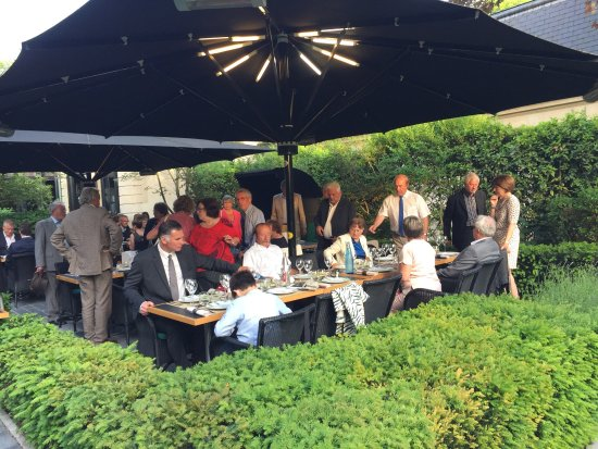 Foto van le jardin les crayeres reims - Restaurant le jardin reims crayeres ...