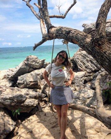 Ko Lan, Thailand: Качельки для фоточек)