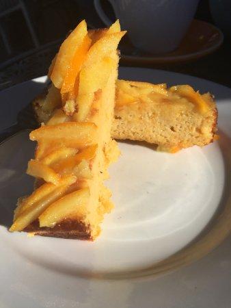 Scone, Australia: Almond Citrus Cake