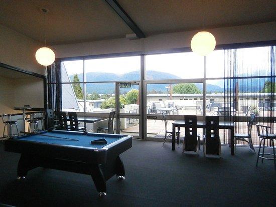 Fiordland Hotel/Motel: Auftenthaltsraum