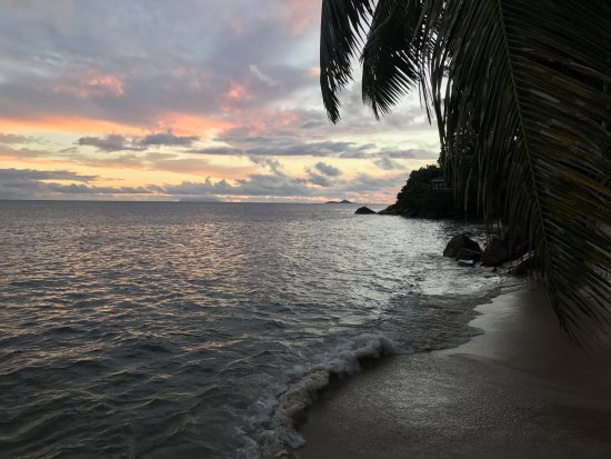 Anse Bois de Rose, Σεϋχέλλες: Great views of the sunset here