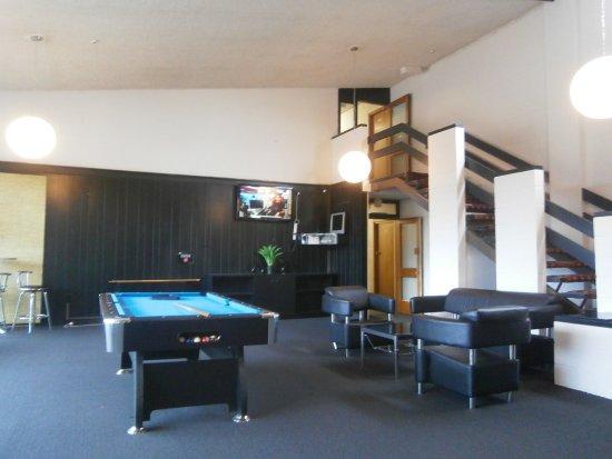 Fiordland Hotel/Motel: Aufenthaltsraum