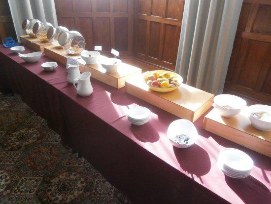 Mosgiel, Nueva Zelanda: Frühstücksbuffet