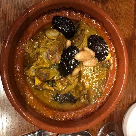 Sidi Maarouf : Lamb Tangine with Prunes & Almonds