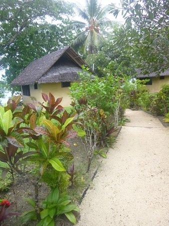 Aore Island Resort: lovely warm bungalow