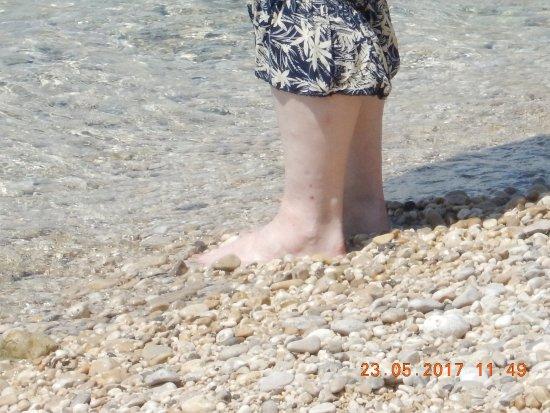 Dramalj, Croacia: Etwas Abkühlung
