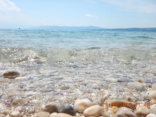 Dramalj, Croacia: Glasklares Wasser