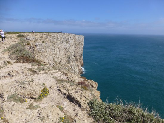 Sagres, โปรตุเกส: View from parking area