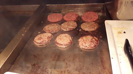 Breukelen, Nederländerna: hamburger