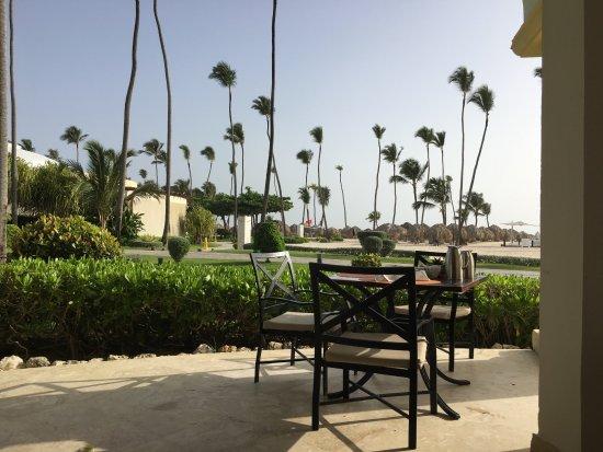 Iberostar Grand Hotel Bavaro: breakfast terrace