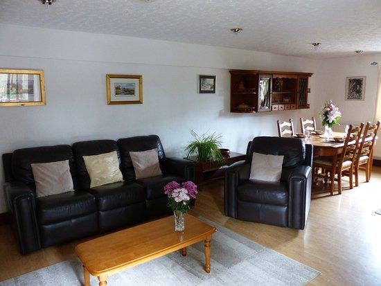 Ivybridge, UK: Lounge area in Badger Self Catering Cottage