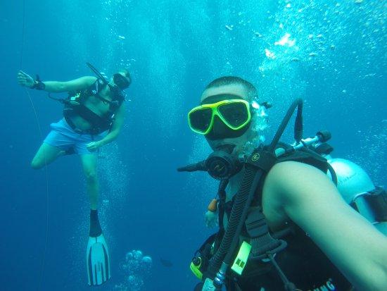 Maafushi Island: Marc et moi
