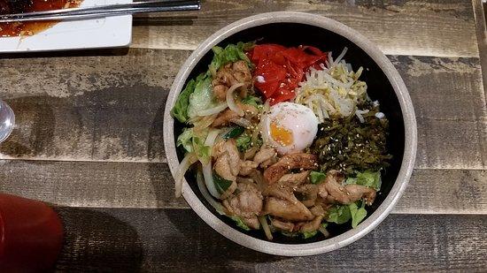 Sizzling chicken teriyaki picture of hansik korean for Asian cuisine willetton