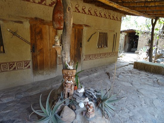 Reserva Ecologica Chaparri: Haupthaus der Lodge