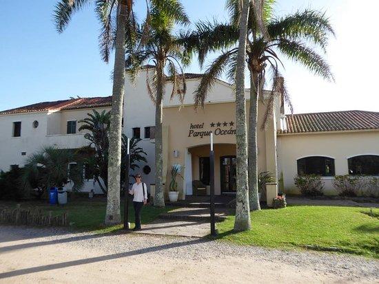 La Coronilla, Uruguay: Entrance