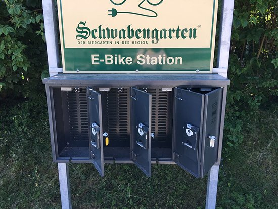 Leinfelden-Echterdingen, Germany: Ladestation für E-Bikes