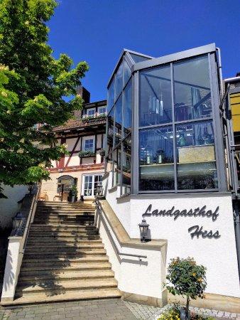 Landgasthof Hotel Hess: Eingangsbereich