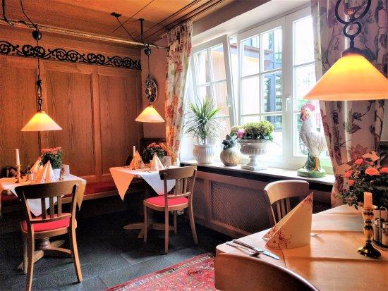 Landgasthof Hotel Hess: Teil des Restaurants