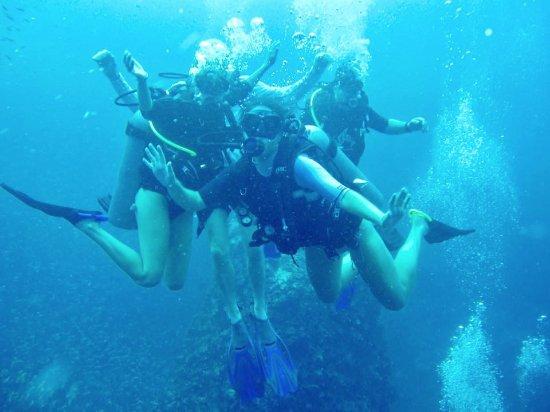 Mae Nam, Thaïlande : Sail Rock: Group shot
