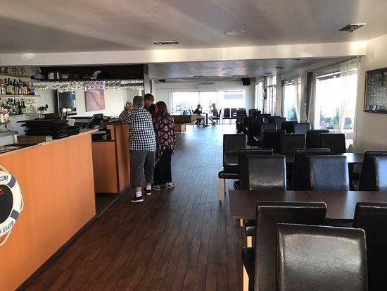 Ängelholm, Swedia: inne i restaurangen