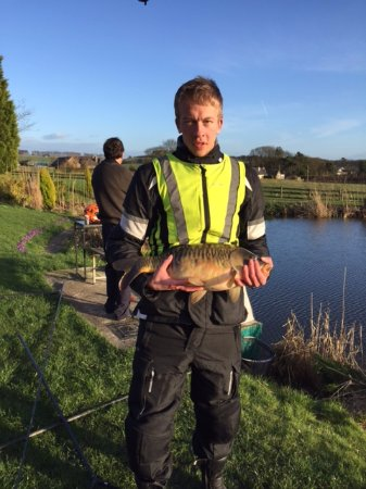 Tansley, UK: Joe with a big carp
