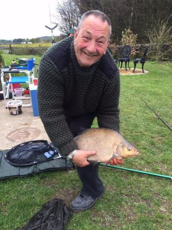 Tansley, UK: Ian with a large Bream