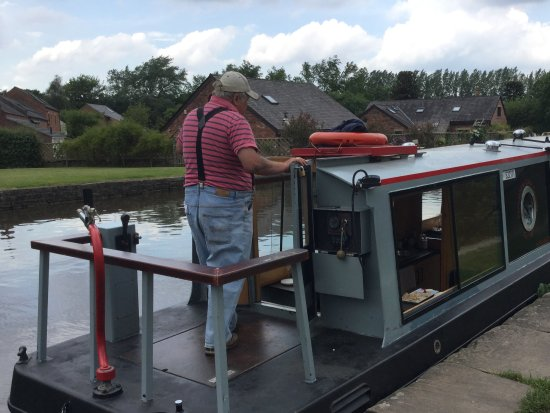 Burscough, UK: The boat
