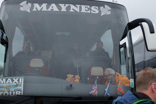 John O'Groats, UK: Der Bus auf Orkney