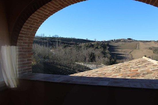 Acquasparta, อิตาลี: Balconcino stanza Girasole