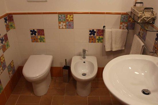 Acquasparta, อิตาลี: Grande bagno comune - Girasole Mimosa