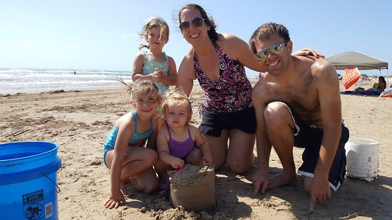 max - amateur champion of south padre island - picture of sandcastle