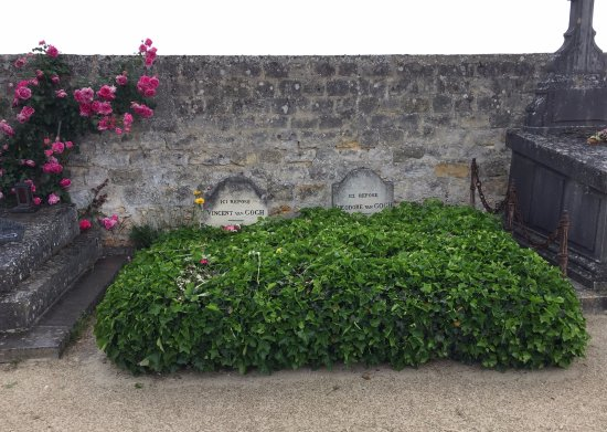 Auvers-sur-Oise, Frankrijk: Vincent's & his brother's graves