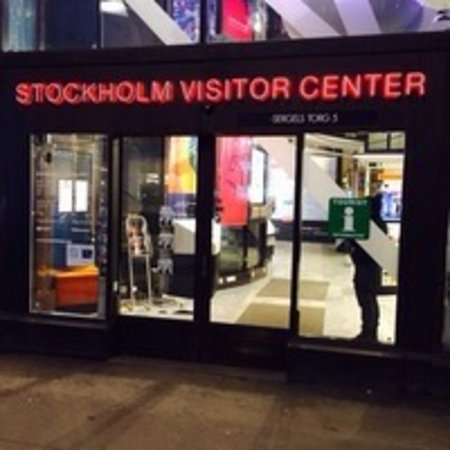 Stockholm, Zweden: Hard working staff...