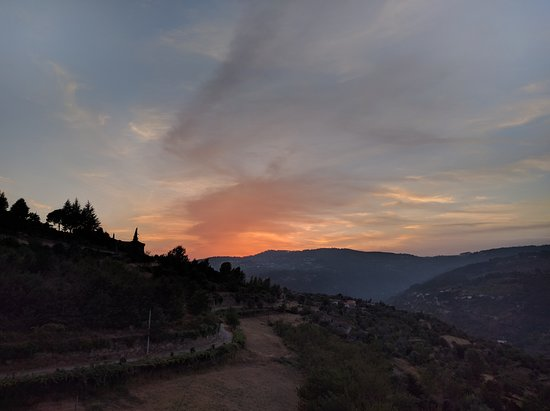 Resende, Portugal: Sunset