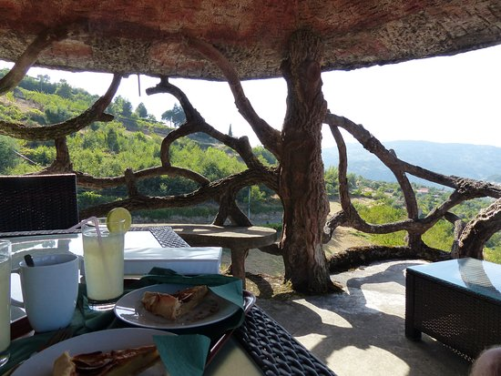 "Resende, Portugal: Coffee and cake in the ""tree house"""