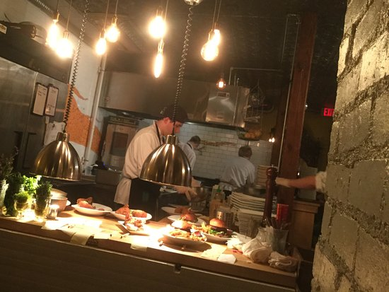 Chatham, Estado de Nueva York: Open kitchen