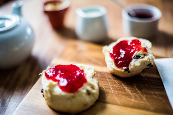 Mortehoe, UK: great cream tea's, super fresh scones