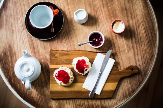 Mortehoe, UK: A really good spot for a cream tea
