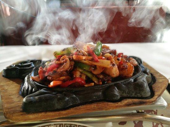 Eschborn, Germany: 铁板大虾,绝对好吃