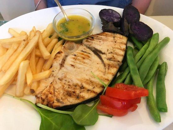 Mario's Restaurant: Grilled Swordfish