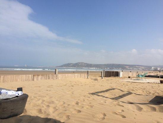 Sofitel Agadir Thalassa Sea & Spa: plage privée