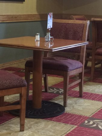 Heber City, UT: It wasn't just one chair, they all were like this.