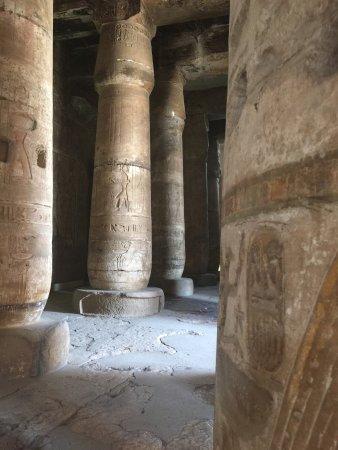 أبيدوس, مصر: Templo interior